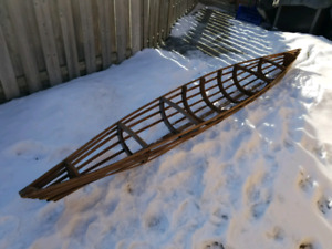 Rustic canoe skeleton- perfect for an upscale cottage