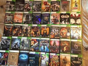 Huge Collection of Xbox 360 games