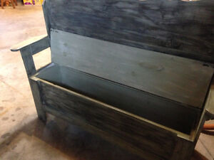 Hallway deacon bench/bench with storage Cambridge Kitchener Area image 2