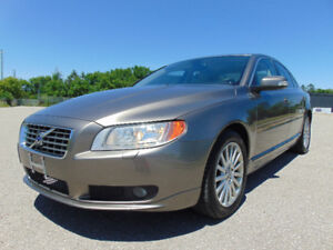 2009 VOLVO S80 3.2, LOADED, LEATHER HEATED SEATS, BLUETOOTH