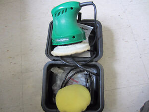 "6""Turtle Wax Double insulated Buffer/Polisher like new $30"