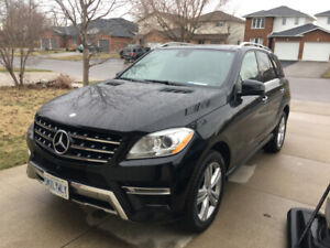 Amazing 2015 Mercedes ML 350 Diesel with warranty to 2021!
