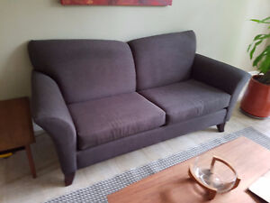 couch and loveseat and chair