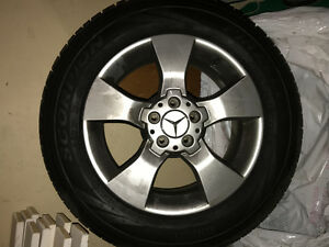 Mercedes Winter Rims & Pirelli Scorpion Tires 235/50/17