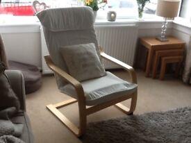 Comfortable chair.