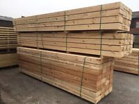 🌳225mm x 38mm x 3.6m/4.2m Wooden Scaffold Style Planks/Boards -New-🌲
