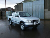 2005 Ford Ranger 2.5TDdi Crewcab 4x4 Pickup ( a/c ) Double Cab