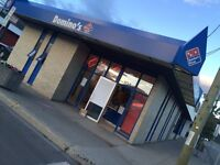 Dominos : all positions available, great opportunities to grow