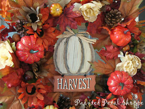 Autumn Harvest Pumpkin Wreath/ Fall Wreath Belleville Belleville Area image 2