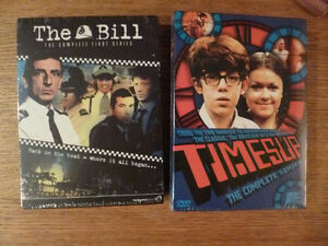 British TV on DVD - The Bill and Timeslip (new)