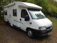 Chausson Flash 4 Berth Rear Fixed Bed