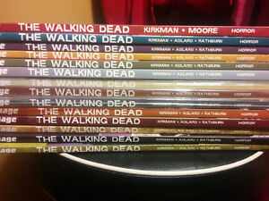 The Walking Dead volumes 1-14 FOR SALE (price negotiable) West Island Greater Montréal image 2