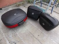Givi panniers and topbox, Cagiva Gran Canyon fittings