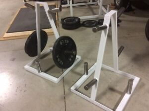 Olympic plate stand(s)