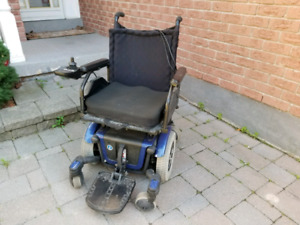 Mobility power electric wheelchair
