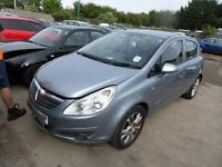 Vauxhall/Opel Corsa 1.2i 16v ( a/c ) 2008MY Club DAMAGED REPAIRABLE SALVAGE
