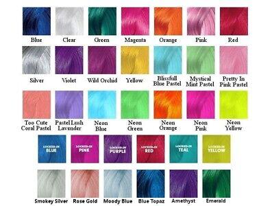 Pravana ChromaSilk Vivids Semi - Permanent Direct Dye Hair Colors 3 oz (Pravana Chromasilk Vivids Semi Permanent Hair Color)