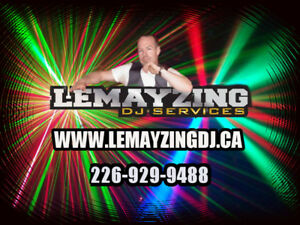 Lemayzing DJ Sercices in Kitchener. Professional DJ for 19 years