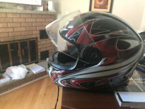 Zox Spear Full Face Helmet XS like new, only used a few times