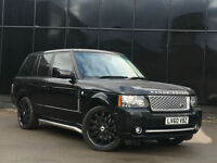 """Land Rover Range Rover 4.4TD V8 auto 2011 Vogue 22"""" OVERFINCH ALLOYS PX SWOP"""