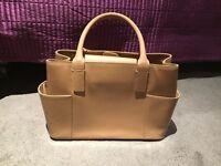 Nude color handbag- excellent condition
