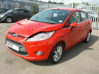 2009 Ford Fiesta 1.25 Zetec DAMAGED REPAIRABLE SALVAGE