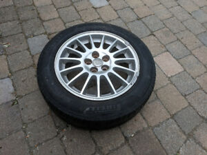 Summer Tires with Chrysler rims - P205/60 R16 92