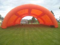 50' x 30 ' Blow up tent
