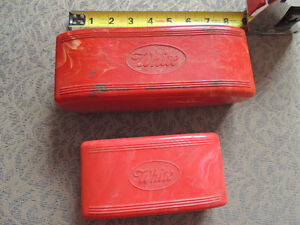White Button Hole Maker, attatchments  and 2 cases London Ontario image 1