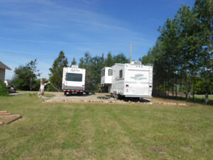 Seasonal - Large RV Site For Rent In Rolla, BC