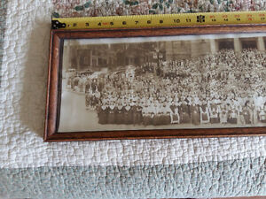 Vintage 1950 panoramic photo moncton