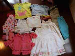 Baby girl clothes/toys/bullet Lot