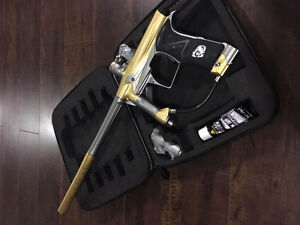 Paintball Gun Planet Eclipse Geo 3 Rare Gold Edition