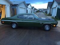 1970 Plymouth duster 340 non matching numbers