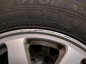 Honda accord tures and rims, 4 bolt pattern