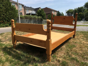SOLID PINE TWIN BEDS (2)