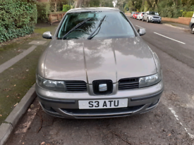 Seat Leon with Seat Number plate
