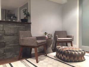 Newly-renovated basement apartment on scenic Mountain Park Ave