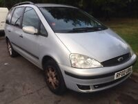 Ford galaxy 02 plate 2.3 automatic 7 seater excellent runner £550