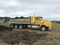Spring gravel sale on now ! Call for all your trucking needs