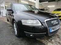 2005 55 AUDI A6 2.0 TDI SE ESTATE,JET BLACK,MASSIVE VALUE,LOOK!!!!! DIESEL