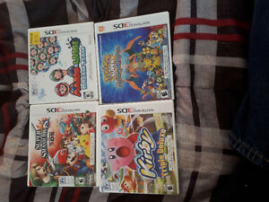 Nintendo 3DS games, $15-$20 each