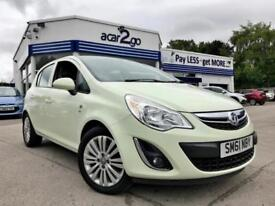 2012 Vauxhall CORSA EXCITE AC Manual Hatchback