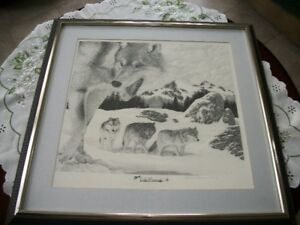ART NATHAN PINSENT  OLD FRIENDS PRINT 340 OF 940