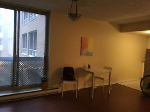 Big studio in perfect location, downtown