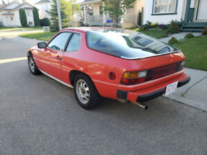 1979 Porsche 924 Coupe (2 door) - Runs well - $2,900