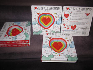 Love is all Around, Let's Sing - Illustrated Sound Book, New, $6