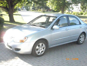 2008 KIA SPECTRA $4995, 97,000 kms, excellent condition,