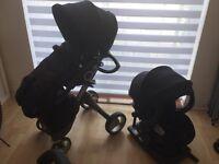 Stokke. Xplory V4 and Stokke car seat