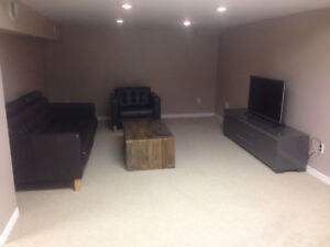 Fully Furnished 2-bdrm Basement Weekly - Avail Apr 1st